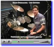 video drum instruction